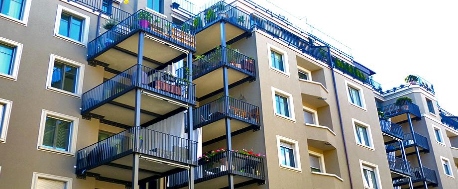 balkon stahlkonstruktion freitragend. Black Bedroom Furniture Sets. Home Design Ideas
